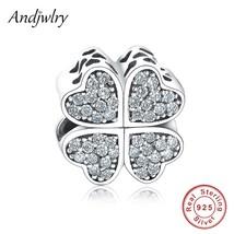 Fit Original Pandora Charms Bracelet Sterling 925 Silver Beads Four Leaf... - $25.57