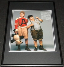 Jackie Cooper & Mickey Rooney 1996 Framed 12x18 Photo Display - $46.39