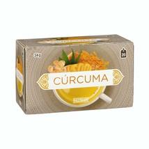 Tumeric Tea Infusion Individual 20 Bags Cinnamon Ginger Stevia Spices - $10.99