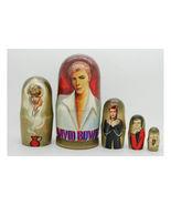 David Bowie matryoshka Russia doll Nesting dolls babushka dolls set of 5 - $64.90