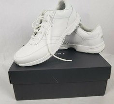 Rockport Mens Sneakers Sz 9.5 Narrow Victory Road White Walking Sport Shoes ** - $47.41