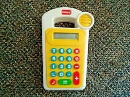 "Vintage 1995 Hasbro Playskool Kids Crazy Calculator "" MAKES SOUNDS WHEN ... - $17.99"