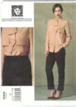 Vogue 1414 Anne Klein Blouse & Tapered Pants Pattern Size 8 10 12 14 16 ... - $14.69