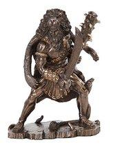 PTC 8.25 Inch Hercules Grecian God Warrior Resin Statue Figurine - $47.99