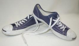 Converse Jack Purcell Unisex Canvas Sneakers Mens 11 Womens 12.5 Denim Blue - $24.20
