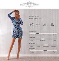 Sexy Sequin Long Sleeve Mini Luxury Club Dress image 4