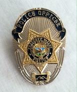 "Obsolete US Police Mini Lapel Pin Badge Prescott Valley Arizona 1.25"" Ne... - $28.99"