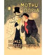 Mothu et Doria: Scenes Impressionnistes by Theophile Alexandre Steinlen ... - $19.99+