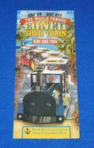 KEY WEST WORLD FAMOUS CONCH TRAIN TOURS SOUVENIR BROCHURE ERNEST HEMINGW... - $3.50