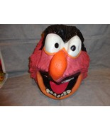 THE MUPPETS ANIMAL 3/4 LATEX FACE MASK WITH ELASTIC STRING TO HOLD IN PLACE - $14.80