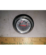 """21MM82 BBQ THERMOMETER, 1-7/8"""" DIAMETER, 2-3/8"""" BEZEL, VERY GOOD CONDITION - $4.86"""