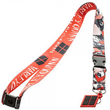 "DC Comics Harley Quinn Comic Art and Name 18"" Lanyard Batman NEW UNUSED - $9.70"