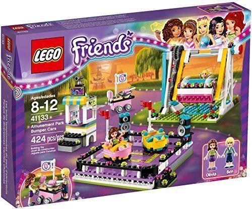 Lego Friends Amusement Park Bumper Cars Set # 41133 [New] Building Toy Set