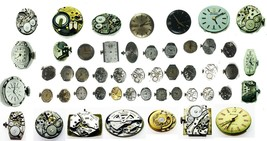 Bulova Antique Vintage Watch Movement For Parts or Replacement Repair Ve... - $7.69+