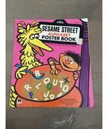 VTG 1971 Sesame Street Alphabet Poster Book - Jim Henson's Muppets Child... - $55.00