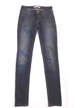 Bullhead Black denim leggings JEGGINGS blue stretch jeans S - $25.00