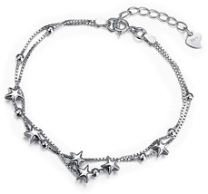 Borong Star Bracelet for Women with 925 Sterling Silver - $65.03