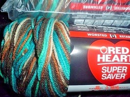 FREE SHIP  3 Skeins of Red Heart Super Saver Worsted Weight Yarn    Ree... - $22.77