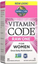 Garden of Life : Raw One For Women - 30 Vegetarian Capsules - See Description - $16.99