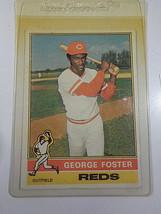 1976 Topps #179 George Foster Cincinnati Reds Baseball Card ~ NM - $2.88