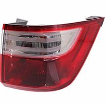 Fits 11-13 Honda Odyssey Tail Lamp / Light Quarter Mounted Right Passenger - $76.87