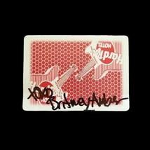 Britney Amber Adult Film Star Signed Las Vegas Hard Rock Casino Playing ... - $39.59