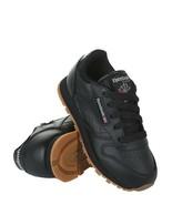 REEBOK Classic Kids  V69621 Black/Gum PRESCHOOL KID SHOES - $42.27+