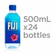 Fiji Natural Artesian Water 16.9 Oz Plastic Bottles 24 Pack 500 Ml Prior... - $21.48