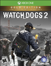 WATCH DOGS 2 GOLD EDITION  - Xbox One - (Brand New) - $102.37