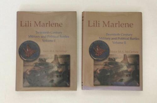 (2) Lili Marlene Twentieth Century Military Political Battles Vol. I  II Book HC