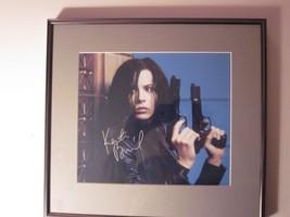Kate Beckinsale signed framed color photo Autograph C.O.A. - $94.05