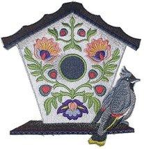 Custom and Unique,Amazing Birdhouse[ Polish Folk Art Birdhouse With Bohe... - $16.82
