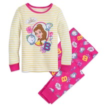 Disney Store Princess Belle PJ Pals Pajama for Girls Sz 5  - $19.99