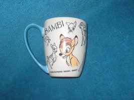 DISNEY STORE Bambi Coffee Cup. Brand New. - $22.00