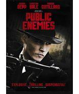 Freebie!  Public Enemies Widescreen DVD (2009) - $0.00