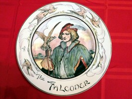 """PLATE Royal Doulton 'The Falconer ' Professionals Seriesware 10 1/2"""" D6279 (CH) - $29.24"""