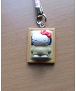 Hello Kitty Sand Bathing Kagoshima limited Netsuki Gotouchi Cell Phone B... - $7.97