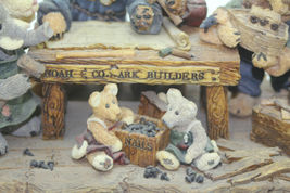 The Boyds Collection Noah & Co. Ark Builders Limited Edition 1996 image 6
