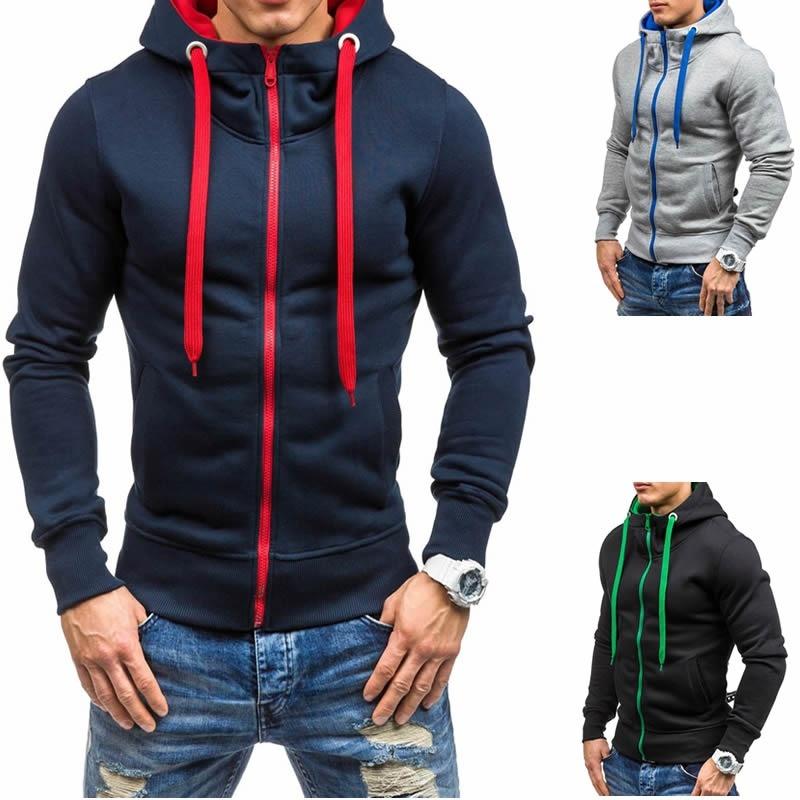 Mens Casual Hoodies Coat (M/L/XL/XXL) image 7