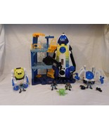 Imaginext Space Station Space Shuttle  +  Space Feature Spider + Exoskel... - $68.02