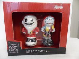 Disney Nightmare Before Christmas Jack & Sally Salt & Pepper Shakers  - $24.00