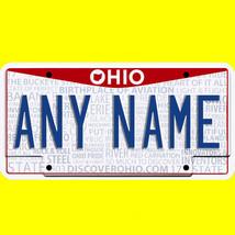 1/43-1/5 scale custom license plates any brand RC/model car - Ohio tag - $11.00