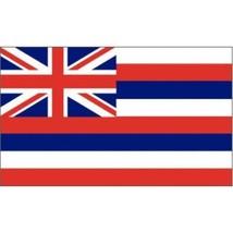 Hawaii State Flag 3 x 5 quality + 6 ft Woodgrain Pole + Mount made in USA - $29.65