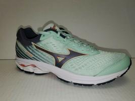 Mizuno Wave Rider 22 [J1GD183111] Women Running Shoes Green/Black size 9.5 - $84.14