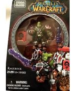 Mega Bloks World of Warcraft #91003 RAGEROCK 29 Pieces Building Toy Set NIB - $13.23 CAD
