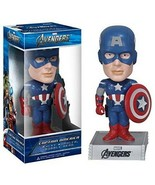 Captain America Marvel Avengers Wacky Wobbler Bobblehead by FUNKO NIB Ne... - $74.24