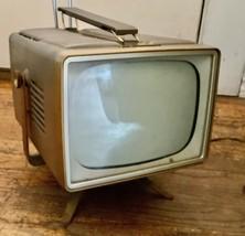 RCA Victor TV Mid-Century Modern mod Vintage Retro Television Tube - $494.99