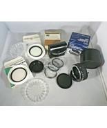 Lot Photo Lens Sears PK 2X Telephoto Converter Close Up Lens Set 2 Tiffi... - $9.41