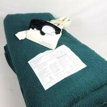 Biddeford Electric Blanket Twin Size Green - $23.75