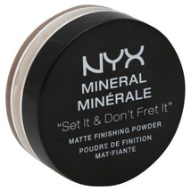 NYX Mineral Matte Finishing Powder 0.28 oz Medium / Dark - $7.89